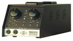 Universal Audio SOLO/ 610 mic preamp http://ehomerecordingstudio.com/best-mic-preamp/