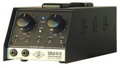 Universal Audio SOLO/ 610 mic preamp http://ehomerecordingstudio.com/best-mic-preamp/