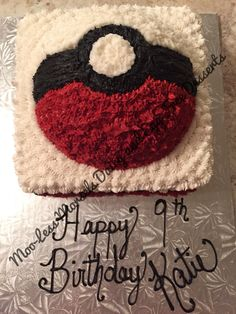 Moo-Less Morsels Dairy and Egg free Pokemon cake