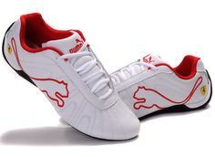 puma shoes pictures | Puma Speed Cat 826 Shoe White Red