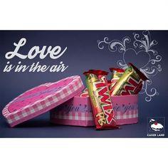 """#Cakes_Land_Egypt #Cakesland #Chocolate #chocolate_love #Love #air #art #Sweets #twix#Hearts #valentine #happy_valentine_day #food#Passion #fun…"""