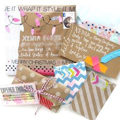 happy mail ideas from Papered Thoughts