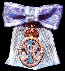 UK/Order of the Crown of India (1878-1947). The Order was limited to British princesses, wives, or female relatives of Indian princes and wives or female relatives of any person who had certain offices in India.
