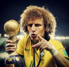 David Luiz, confederations cup 2013. This guy is my favorite. Such a quality player.