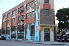 Los Angeles' Arts District is known for good craft beer, quality food and amazing art. What could be better?