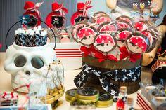 Pra você festas especiais: Piratas para o capitão Luís Hypólito
