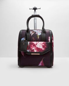 eb008ca5d Buy Ted Baker Odina Porcelain Rose Travel Bag, Black Online at  johnlewis.com | Things to Wear | Bags, Purses, bags, Travel bags