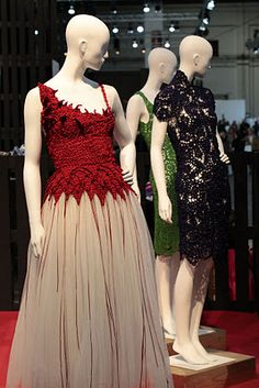 Josep Mestres - this guy makes the most beautiful crochet clothes I have ever seen