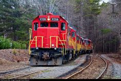 RailPictures.Net Photo: GNRR 9708 Georgia Northeastern EMD GP38 at Canton , Georgia by David Stewart