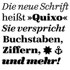 FF Quixo http://www.fontshop.com/fonts/singles/fontfont/ff_quixo_ot_regular/opentype_cff/ schafft es unter Typograficas Fontfavoriten 2013