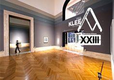 """L'allestimento di """"Paul Klee e l'Italia"""" è stato premiato con la Menzione d'Onore al XXIII Premio Compasso d'Oro 2014."""