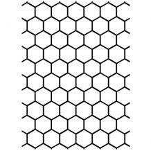 Discontinued Darice® Embossing Folder - Honeycomb - 5 x scrapbooking, card making, greeting cards, invitations and Craft Room Shelves, Craft Room Storage, Scrapbook Supplies, Scrapbooking, Plastic Items, Making Greeting Cards, Color Calibration, Embossing Folder, Background Patterns