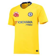 847eb702c42 Chelsea Away Yellow Soccer Jersey Shirt 2018-19 Cheap 18 19 football kits on