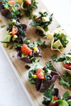 Taco Salad Bites