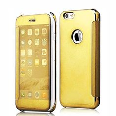 FEYE® Luxury Case For iPhone 6S Plus 2015 Hot sale Metal Plating Mirror Flip Smart Case Cover for iPhone 6S / iPhone 6 FNS http://www.amazon.in/dp/B0185I7U9W/ref=cm_sw_r_pi_dp_pRpKwb1PA2EGF