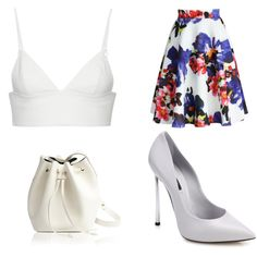 467 by cassietava on Polyvore featuring мода, T By Alexander Wang, Chicwish, Casadei and Rachael Ruddick