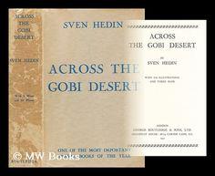 Sven Hedin, Across the Gobi desert
