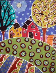 karla gerard artist | karla gerard folk art