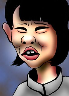 話題の人の似顔絵BLOG: マススタート初代女王