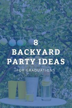 Graduation Parties 177962622754505906 - 8 unique party ideas that will turn your backyard into an entertainer's paradise. Source by maryannrizzo Outdoor Graduation Parties, Graduation Celebration, Graduation Decorations, Grad Parties, Graduation Balloons, 8th Grade Graduation, High School Graduation, Graduate School, Graduation Pictures