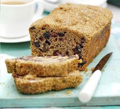Perfect with a reviving cuppa, this low fat cake is a keeper and will happily sit in a tin for a week or so Bbc Good Food Recipes, Tea Recipes, Cake Recipes, Cooking Recipes, Tea Cakes, Food Cakes, Fruit Cakes, Toasted Teacakes, Classic Scones Recipe