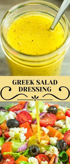 Greek Salad Dressing – a wonderful addition to any salad. Made with simple ingredients, this dressing is tasty and easy to make! FOLLOW Cooktoria for more deliciousness! If you try my recipes - share photos with me, I ALWAYS check!
