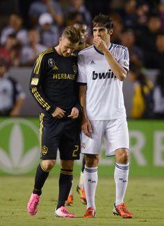 Beckham & Kaká.