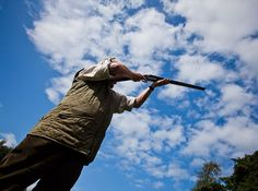 Clay shooting at Larchfield - we can organise for smaller groups or large groups with lunch in the gardens or barn...