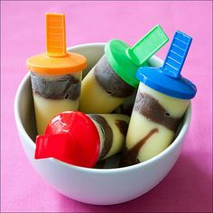 Almost like jello pudding pops!