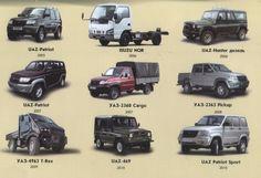 История автомобилей УАЗ 2005-2010г