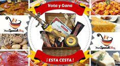 Acabo de votar mi comida española favorita para ganar una cesta de Navidad ¿Te apuntas?