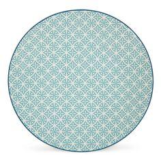 Assiette plate vert d'eau Vert d'eau - Helyse - Les assiettes plates - Assiettes - Arts de la table - Décoration d'intérieur - Alinéa
