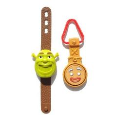 Your Shrek fan can't live without these two adorable time pieces.