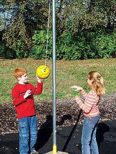 Tetherball my favorite school yard game!