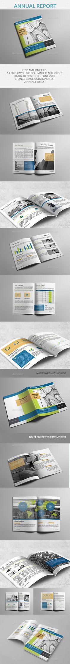 Annual Report Annual Report Template u2014 PSD
