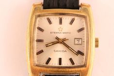 """Currently at the #Catawiki auctions: Eterna-Matic - Sahida """"NO RESERVE PRICE"""" - Women - 1970-1979 Cool Watches, Really Cool Stuff, Plating, Auction, Women, Women's, Cool Clocks, Woman"""