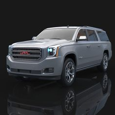 2015 GMC Yukon XL Model available on Turbo Squid, the world's leading provider of digital models for visualization, films, television, and games. Suv Trucks, Chevy Trucks, Yukon Denali, Cadillac Escalade, Dodge Challenger, Future Car, Luxury Cars, Dream Cars, Automobile