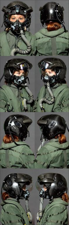 "andiedraws:Lockheed's futuristic F35 pilot helmet With HMDS (Helmet-Mounted Display System), which ""combines infrared, night-vision, augmented and virtual reality to let pilots see more than ever before — including right down through the plane itself."" Awesuuuum! Info on most recent upgrade here: http://dailycaller.com/2014/07/25/lockheed-is-finally-getting-the-f-35s-amazing-new-helmet/"