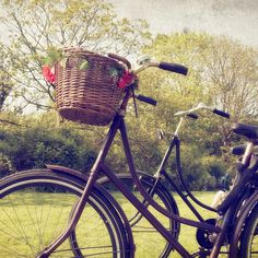 Bike couple amsterdam
