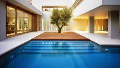 Incrível essa piscina!   ISV Architects