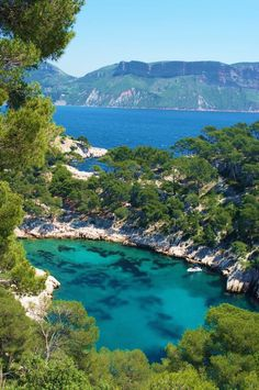 The Calanque de Port-Miou is one of the three big Cassis calanques - Cassis, Provence-Alpes- Côte d'Azur, France. Places To See, Places To Travel, Travel Destinations, Provence France, Cassis France, French Riviera, South Of France, France Travel, Places Around The World