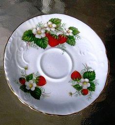 saucer strawberry