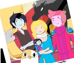 """antoher drawing of adventure time the archive has the name as """"pretty photo"""" that is the finish name but when I was doing the drwing I put the name as """". Fiona Adventure Time, Watch Adventure Time, Adventure Time Anime, Manga Anime, Adventure Time Wallpaper, Time Cartoon, We Are Together, Star Vs The Forces Of Evil, Force Of Evil"""