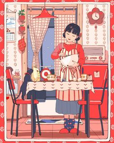 """Receive great pointers on """"abstract artists matisse"""". They are readily available for you on our internet site. Art Anime Fille, Anime Art Girl, Pretty Art, Cute Art, Aesthetic Art, Aesthetic Anime, Bel Art, Art Mignon, Son Chat"""