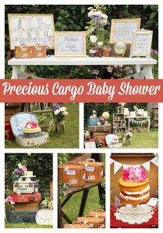 Precious Cargo Themed Baby Shower - Pretty My Party