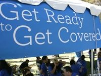 LOW LATINO ENROLLMENT HURTING CALIFORNIA OBAMACARE EXCHANGE. The  LA Times  reports Covered California's enrollment among Latinos is dreadful, despite spending millions on advertising targeting Spanish-speaking Californians, withl ess than 4,500 people who speak Spanish as their primary language have enrolled in Obamacare using the state exchange.