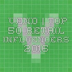 Vend | Top 50 Retail Influencers 2016