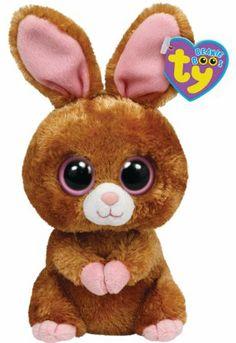 ef6102c76e4 Amazon.com  Ty Beanie Boos Hopson Brown Bunny 6