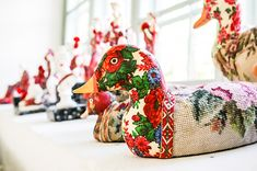 Kurbits - din slöjdkompis i samtiden - Sida 2 av 288 - Swedish Design, Silent Night, Pet Toys, Folk Art, Sewing Projects, Plush, Tapestry, Embroidery, Christmas Ornaments
