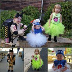 Halloween costumes ghostbusters diy